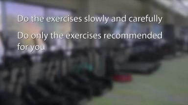 Orthopedic Rehabilitation Shoulder therapy exercises